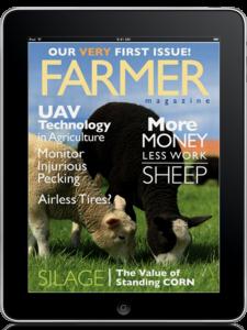 Farmer magazine on ipad